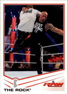 2013 WWE (Topps) The Rock 32