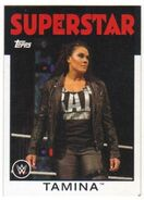 2016 WWE Heritage Wrestling Cards (Topps) Tamina 55
