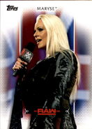 2017 WWE Women's Division (Topps) Maryse 20