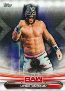 2019 WWE Raw Wrestling Cards (Topps) Lince Dorado 45