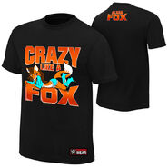 Alicia Fox Crazy Like a Fox Authentic T-Shirt