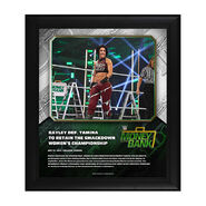 Bayley Money In The Bank 2020 15 x 17 Limited Edition Plaque