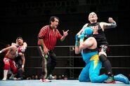 Estrella Executive Committee-Stardom-Tokyo Gurentai Produce Lucha Libre Estrella Fiesta 6