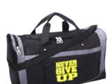 "John Cena ""Never Give Up"" Gym Bag"