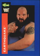 1991 WWF Classic Superstars Cards Earthquake 138