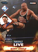 2013 TNA Impact Wrestling Live Trading Cards (Tristar) Kurt Angle 11