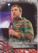 2017 WWE Road to WrestleMania Trading Cards (Topps) Daniel Bryan 21