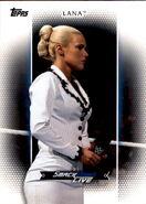 2017 WWE Women's Division (Topps) Lana 31