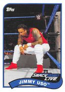 2018 WWE Heritage Wrestling Cards (Topps) Jimmy Uso 34