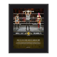 Asuka NXT TakeOver Orlando 10 x 13 Commemorative Photo Plaque