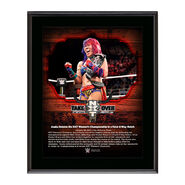 Asuka NXT TakeOver San Antonio 10 x 13 Commemorative Photo Plaque