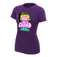 Bayley Hug Like A Champ Women's V-Neck Authentic T-Shirt