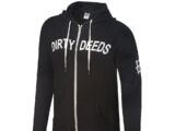 "Dean Ambrose ""Dirty Deeds"" Unisex Lightweight Full-Zip Hoodie Sweatshirt"