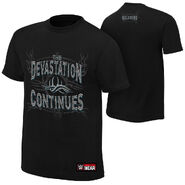 Goldberg Devastation Continues Authentic T-Shirt