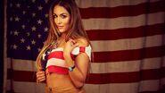 Nikki Bella July 4th WWE Photo Shoot