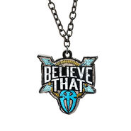Roman Reigns Believe That Blue Pendant