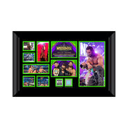 Seth Rollins Signed WrestleMania 34 Commemorative Plaque
