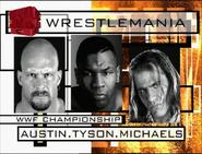 Stone Cold vs. Shawn Michaels Wrestlemania 14