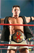 Styles as the NWA-TNA X Division Champion