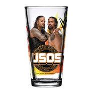 The Usos 2018 Toon Tumbler Pint Glass