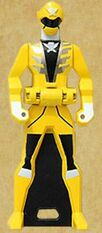 Gokai Yellow's Ranger Key
