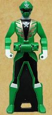 Gokai Green's Ranger Key