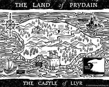 Castle of Llyr map Read