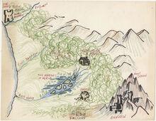 Prydain Map LA1