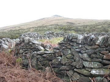 Ruined enclosure wall