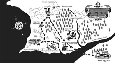 Prydain map bc