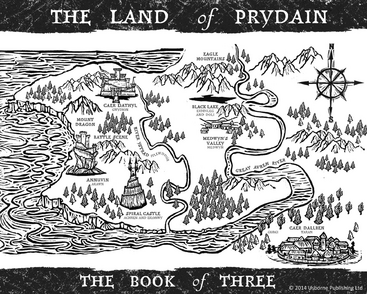 Book of Three map Read