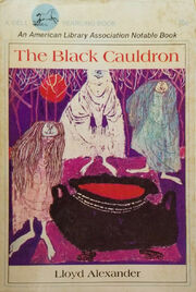 Black Cauldron Book Cover