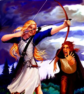 Eilonwy's Arrow