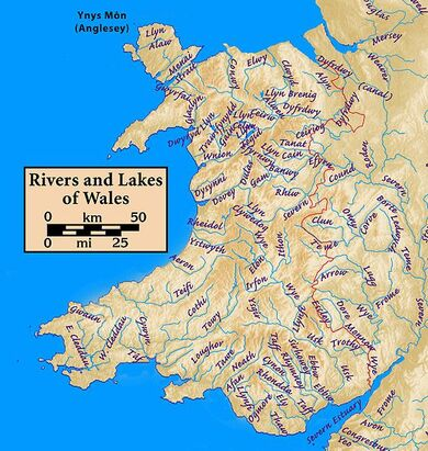 Wales.rivers.lakes