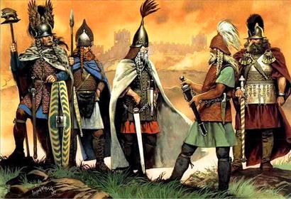 Hillfort-warriors