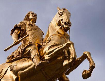 Golden-horseman