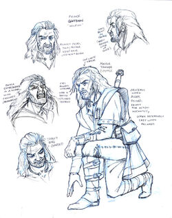 Gwydion model sheet by saeriellyn-d67po3o