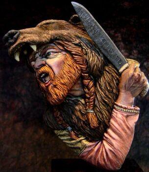 Bearskin warrior