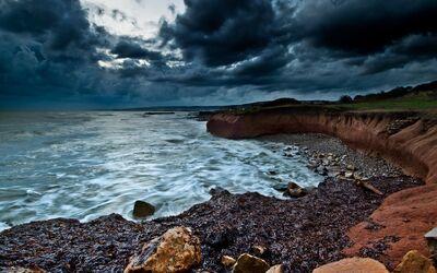 Dark-sea-coast