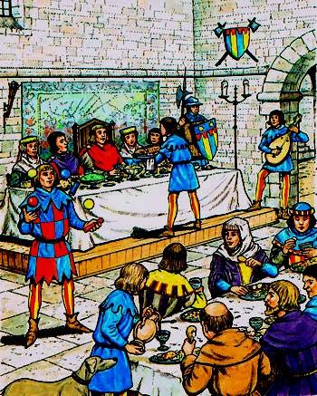 Medieval-feast