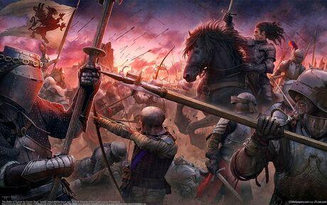 Medieval-battle