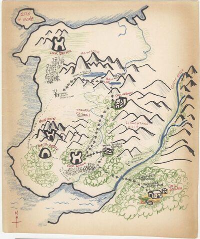 Prydain Map LA2