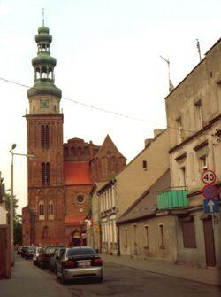 Chełmża Konkatedra Świętej Trójcy