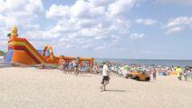Karwia plaża dla dzieci