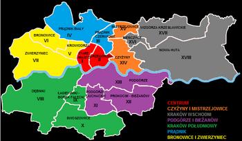 KrakowRegiony