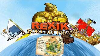 Rexík a Poklad Pirátů CELÁ HRA-1