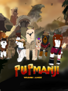Pupmanji Welcome to the jungle tittle card