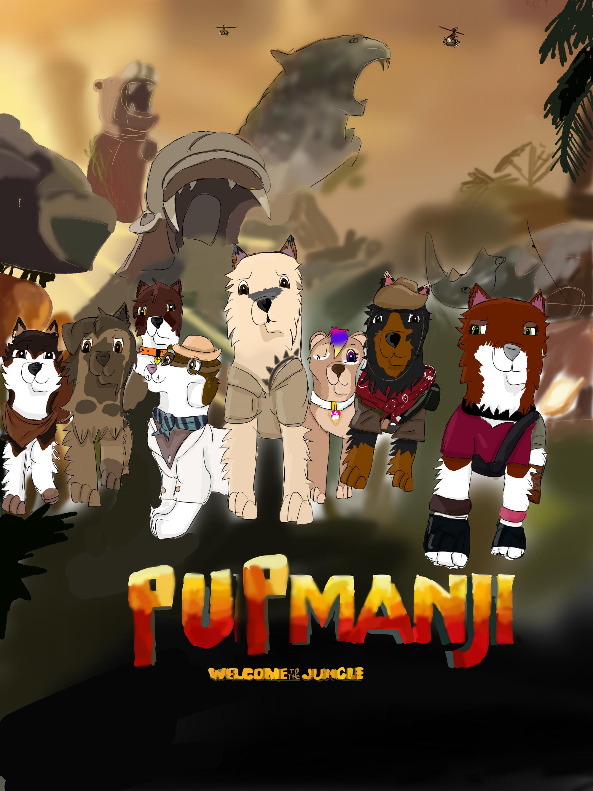 Psiumanji Witamy W Dżungli Psi Patrol Wymyślone Postacie