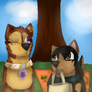 Vojtek and Cloe on a picnic collab between Chye and Shiraz