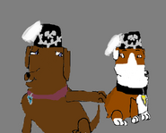 Obi and Rubble as miners